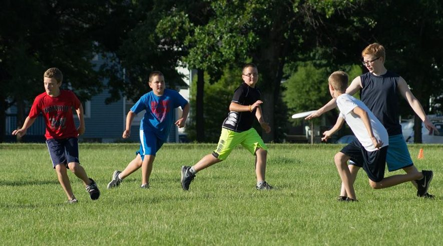 Youth Ultimate Frisbee